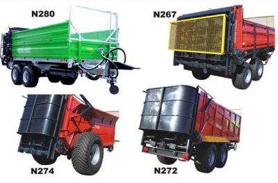 TRAILERS FOR BALES AND GRAIN